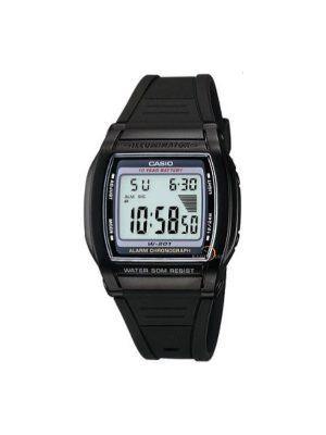 Ανδρικό ρολόι Casio W-201-1AV Μαύρο