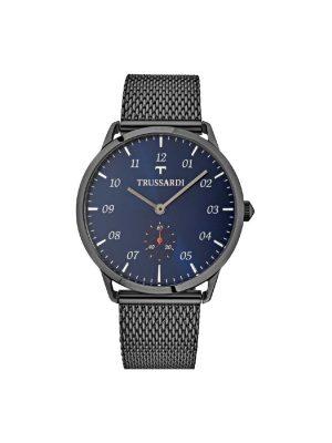 Ανδρικό ρολόι Trussardi R2453116003 Μαύρο