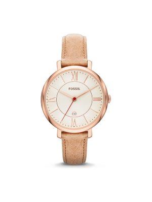 Γυναικείο ρολόι Fossil Jacqueline ES3487 Καφέ