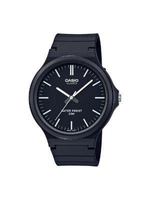 Ανδρικό ρολόι Casio MW-240-1EV Μαύρο