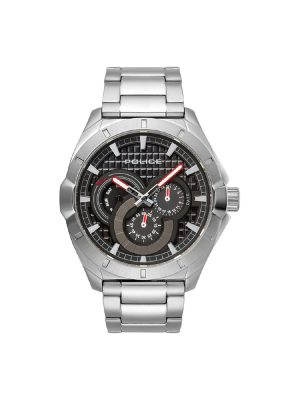 Ανδρικό ρολόι Police PL15388JS02M Ασημί