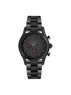 Ανδρικό ρολόι Trussardi R2453127009 Μαύρο