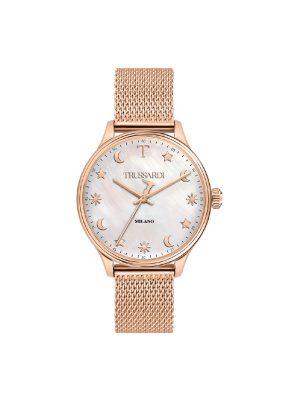 Γυναικείο ρολόι Trussardi R2453130501 Ροζ χρυσό