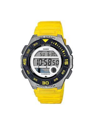 Γυναικείο ρολόι Casio LWS-1100H-9A Κίτρινο