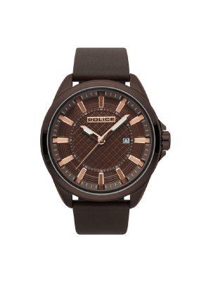 Ανδρικό ρολόι Police PL15408JSBN1 Καφέ