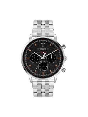 Ανδρικό ρολόι Trussardi R2453135009 Ασημί