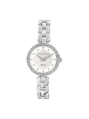Γυναικείο ρολόι Trussardi R2453137501 Ασημί