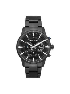 Ανδρικό ρολόι Police PL15523JSB02M Μαύρο