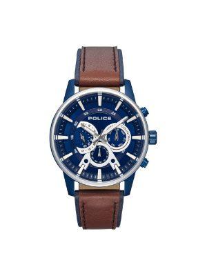Ανδρικό ρολόι Police PL15523JSBLS03 Καφέ/Μπλε