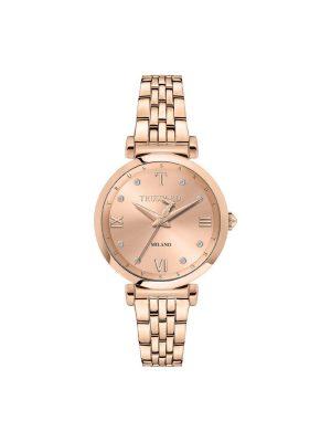 Γυναικείο ρολόι Trussardi R2453138502 Ροζ χρυσό