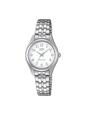 Γυναικείο ρολόι Casio LTP-1129PA-7B Ασημί