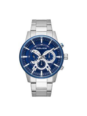 Ανδρικό ρολόι Police PL15523JSTBL03M Ασημί