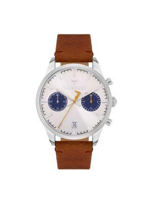 Ανδρικό ρολόι Trussardi R2471613004 Καφέ