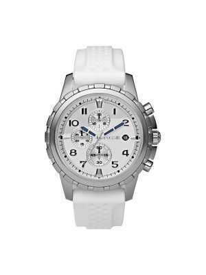 Ανδρικό ρολόι Fossil FS4611 Άσπρο
