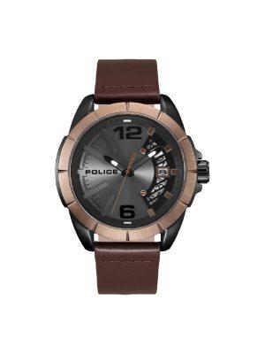 Ανδρικό ρολόι Police PL15652JSBBN Καφέ