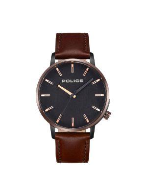 Ανδρικό ρολόι Police PL15923JSBBZ Καφέ