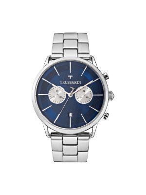Ανδρικό ρολόι Trussardi R2473616003 Ασημί