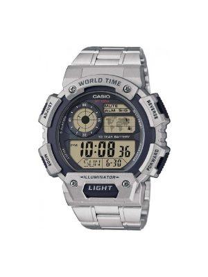 Ανδρικό ρολόι Casio AE-1400WHD-1AV Ασημί