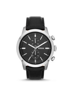 Ανδρικό ρολόι Fossil Townsman FS4866 Μαύρο