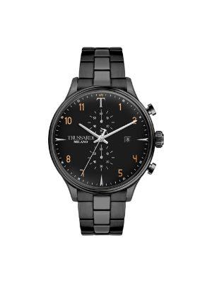Ανδρικό ρολόι Trussardi R2473630001 Μαύρο