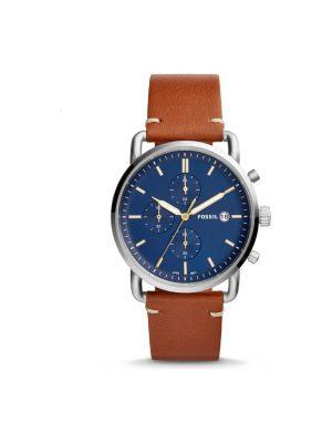 Ανδρικό ρολόι Fossil FS5401 Καφέ