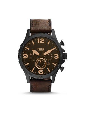 Ανδρικό ρολόι Fossil Nate JR1487 Καφέ