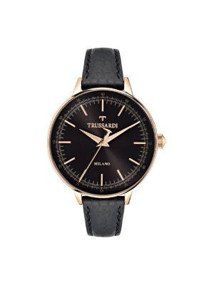 Γυναικείο ρολόι Trussardi R2451120502 Μαύρο