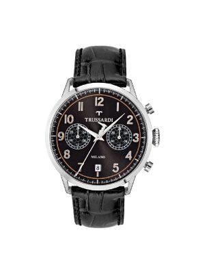 Ανδρικό ρολόι Trussardi R2451123003 Μαύρο
