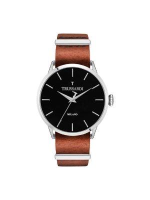 Ανδρικό ρολόι Trussardi R2451123006 Καφέ