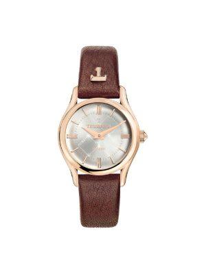 Γυναικείο ρολόι Trussardi R2451127501 Καφέ