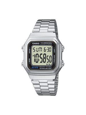 Ανδρικό ρολόι Casio A-178WEA-1AES Ασημί