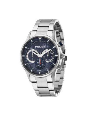Ανδρικό ρολόι Police PL14383JS03M Ασημί