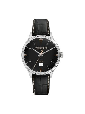 Γυναικείο ρολόι Trussardi R2451130002 Μαύρο