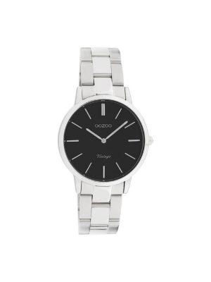 Unisex ρολόι Oozoo C20043 Ασημί μπρασελέ