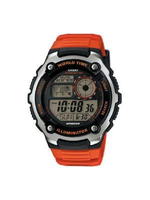 Ανδρικό ρολόι Casio AE-2100W-4AV Πορτοκάλι