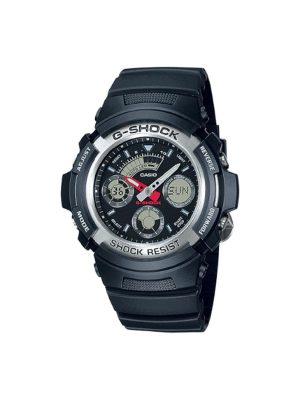 Ανδρικό ρολόι Casio AW-590-1AER Μαύρο