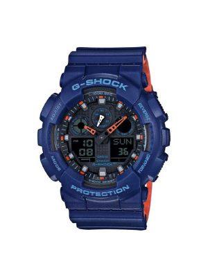 Ανδρικό ρολόι Casio GA-100L-2AER Μπλε