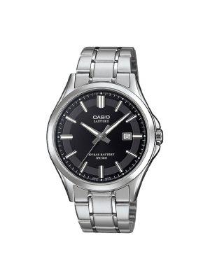 Ανδρικό ρολόι Casio MTS-100D-1A Ασημί