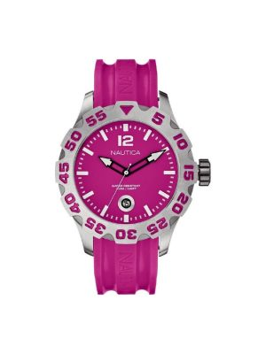 Γυναικείο ρολόι Nautica A14607 Ροζ