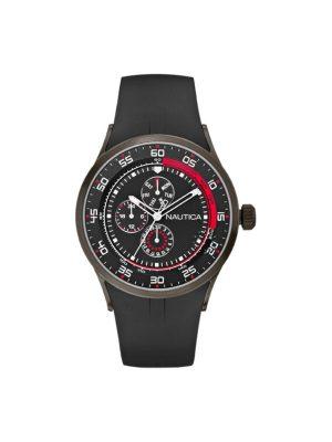 Ανδρικό ρολόι Nautica A15649 Μαύρο