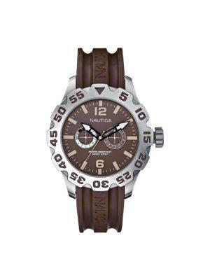 Ανδρικό ρολόι Nautica A16633 Καφέ