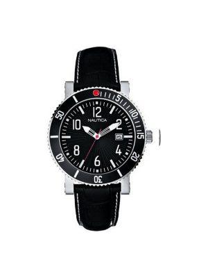 Ανδρικό ρολόι Nautica A17501G Μαύρο