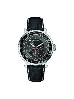 Ανδρικό ρολόι Nautica A17510G Μαύρο