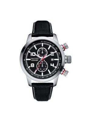 Ανδρικό ρολόι Nautica A18546G Μαύρο