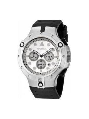 Ανδρικό ρολόι Nautica A25007G Μαύρο