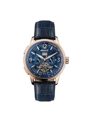 Ανδρικό ρολόι Ingersoll Regent I00301 Μπλε Λουράκι