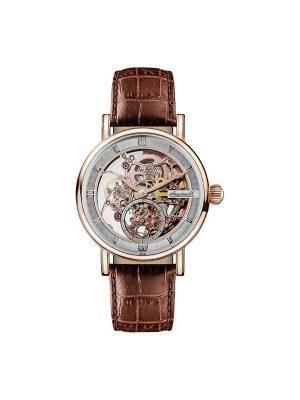 Ανδρικό ρολόι Ingersoll Herald I00401 Καφέ Λουράκι