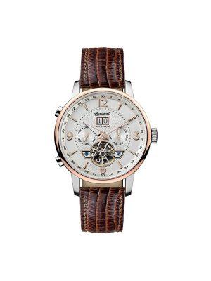 Ανδρικό ρολόι Ingersoll Grafton I00701 Καφέ Λουράκι