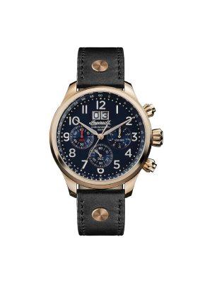Ανδρικό ρολόι Ingersoll Delta I02401 Μαύρο Λουράκι