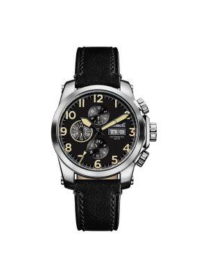 Ανδρικό ρολόι Ingersoll Manning I03101 Μαύρο Λουράκι